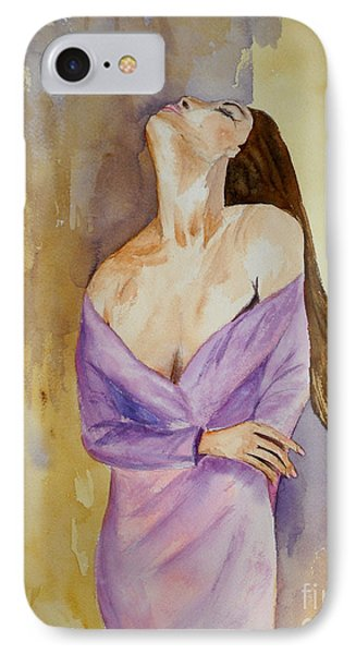 Beauty In Thought IPhone Case by Vicki  Housel