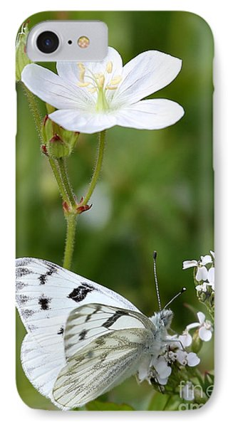 Beauty In White IPhone Case