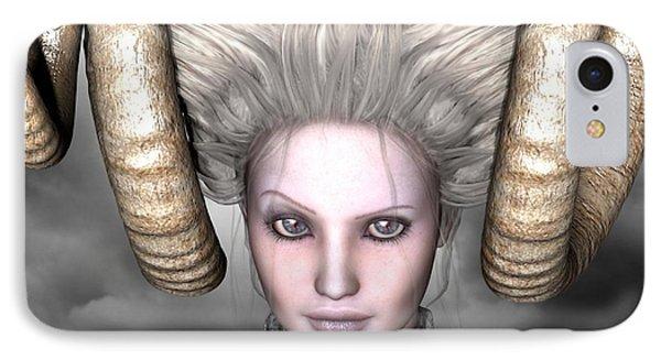 IPhone Case featuring the digital art Beauty Is The Beast by Sandra Bauser Digital Art