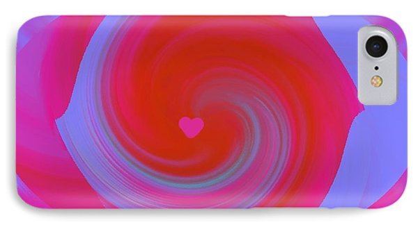 IPhone Case featuring the digital art Beauty Marks by Catherine Lott