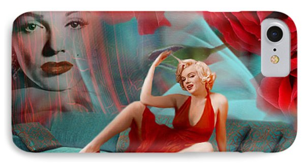 Beauty Never Dies - Tribute Art By Giada Rossi IPhone Case