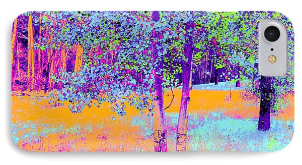 Beauty Of An Aspen Grove IPhone Case by Ann Johndro-Collins
