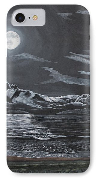 IPhone Case featuring the painting Beauty Of The Night by Ian Donley