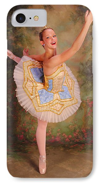 Beauty The Ballerina IPhone Case by ARTography by Pamela Smale Williams
