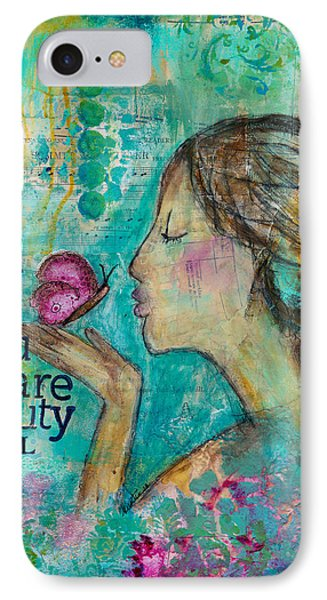 Beautyfull IPhone Case by Kirsten Reed