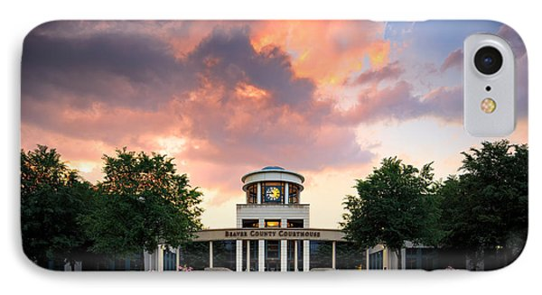 Beaver County Courthouse IPhone 7 Case