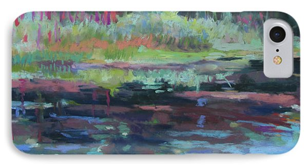 Beaver Pond IPhone Case by Linda Novick