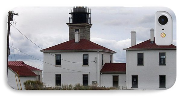 Beavertail Lighthouse IPhone Case by Catherine Gagne