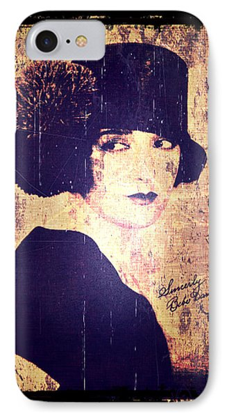 Bebe Daniels - 1920s Actress Phone Case by Absinthe Art By Michelle LeAnn Scott