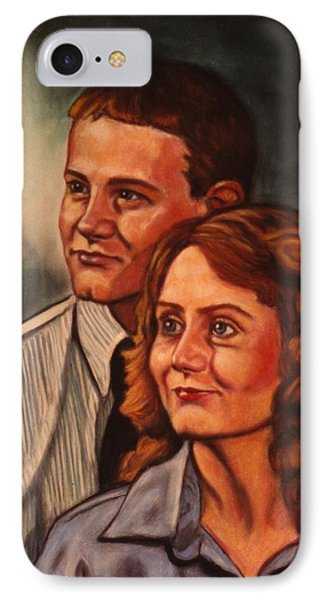Becky And Ron Yearout Phone Case by Kendall Kessler
