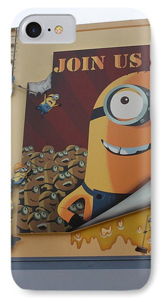 Become A Minion IPhone Case by David Nicholls