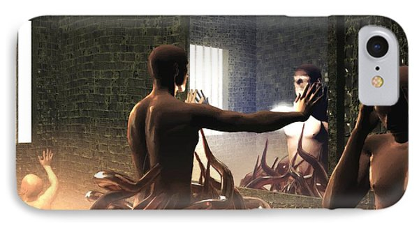 Becoming Disturbed IPhone Case by John Alexander