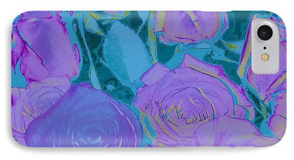 Bed Of Roses II IPhone Case by Shirley Moravec