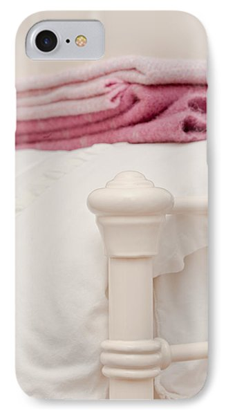 Bed Post IPhone Case by Tom Gowanlock