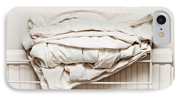 Bed Sheets IPhone Case by Tom Gowanlock
