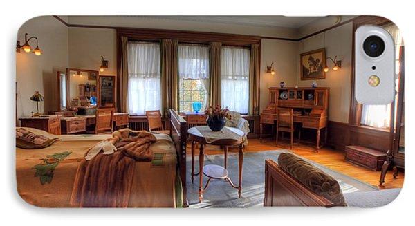 Bedroom Glensheen Mansion Duluth IPhone 7 Case by Amanda Stadther