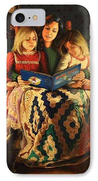 Bedtime Stories IPhone Case by Glenn Beasley