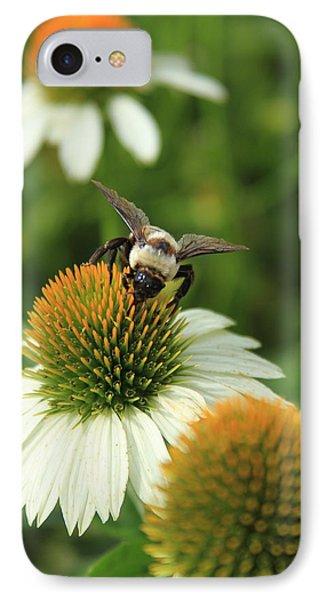 Bee 7 Phone Case by Reid Callaway