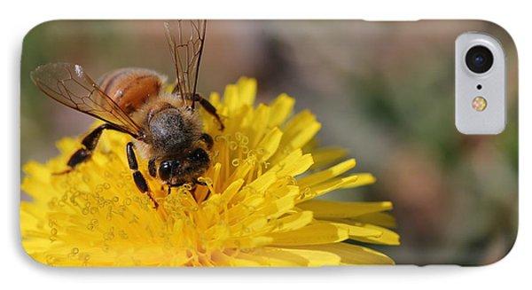 Bee And Dandelion Phone Case by Lorri Crossno