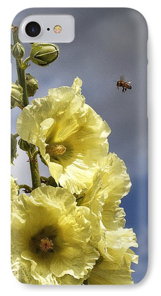 Bee Approaching IPhone Case by Shirley Mitchell