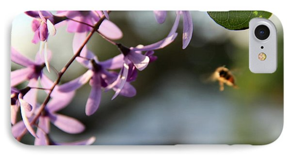 IPhone Case featuring the photograph Bee Back by Greg Allore