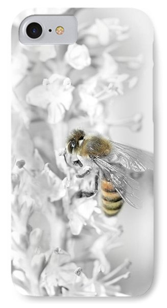 Bee Collecting Pollen IPhone Case