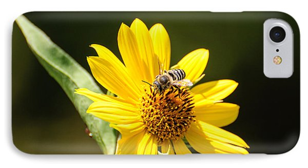 Bee Flower IPhone Case