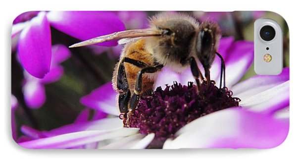 Bee Happy Phone Case by Norma Brock