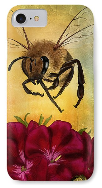 Bee I IPhone Case by April Moen