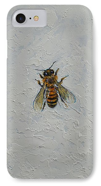 Bee IPhone Case by Michael Creese