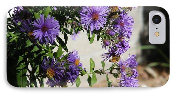 Bee On Purple IPhone Case