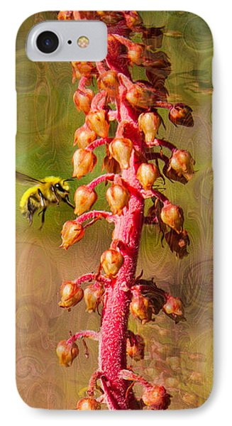 Bee Psychadelic With Me IPhone Case by Omaste Witkowski