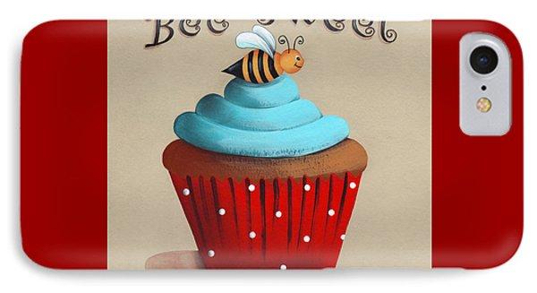 Bee Sweet Cupcake Phone Case by Catherine Holman