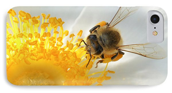 IPhone Case featuring the photograph Bee-u-tiful by TK Goforth