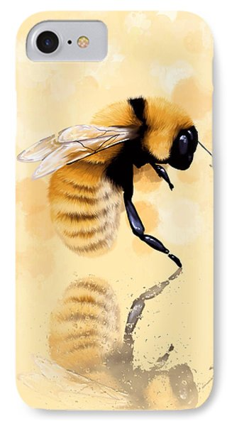 Bee IPhone Case by Veronica Minozzi