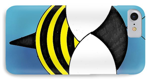 Bee2011 IPhone Case by Loretta Nash