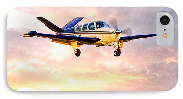 Beechcraft Bonanza IPhone Case by James David Phenicie