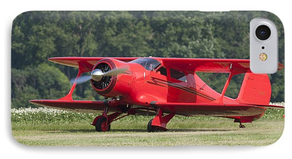 IPhone Case featuring the photograph Beechcraft Staggerwing I by Timothy McIntyre