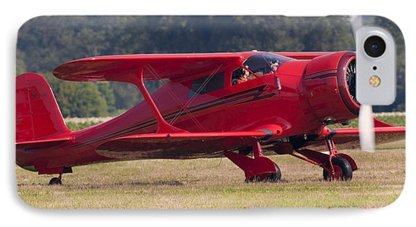 IPhone Case featuring the photograph Beechcraft Staggerwing by Timothy McIntyre