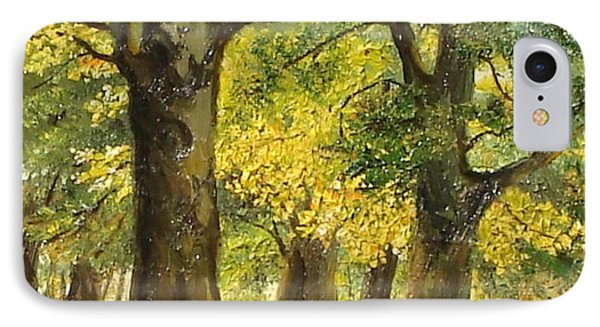 Beeches In The Park Phone Case by Sorin Apostolescu