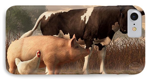 Beef Pork And Poultry  IPhone Case