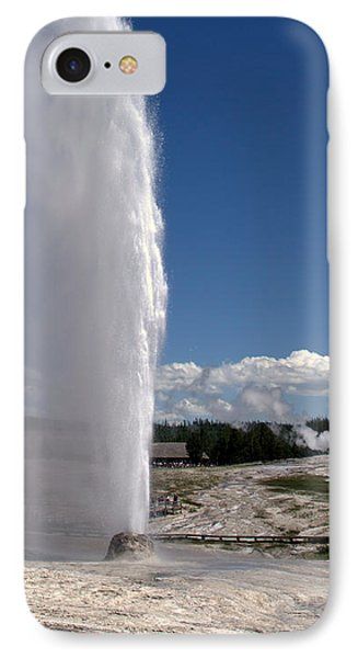 Beehive Geyser - Yellowstone National Park Phone Case by Brian Harig