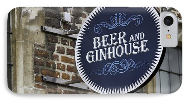 Beer And Ginhouse Phone Case by David Freuthal