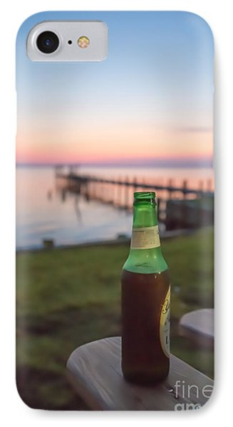 Beer In The Sunset In Obx IPhone Case