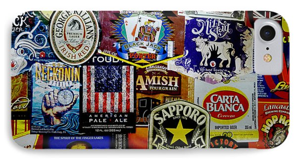 Beer Labels Phone Case by Richard Reeve