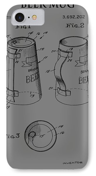 Beer Mug IPhone Case by Dan Sproul