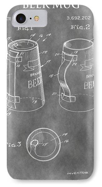 Beer Mug Patent IPhone Case
