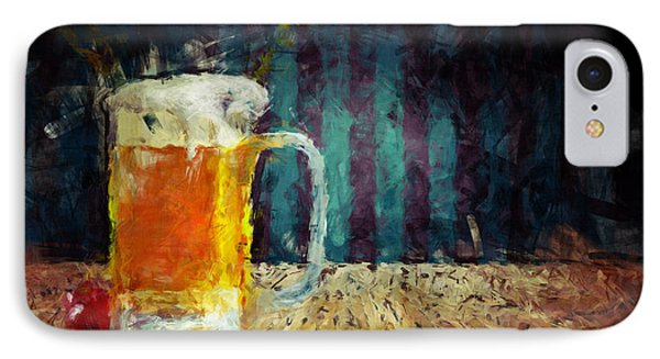 Beer Time Phone Case by Adam Vance