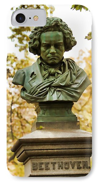 Beethoven In Central Park IPhone Case by Alice Gipson