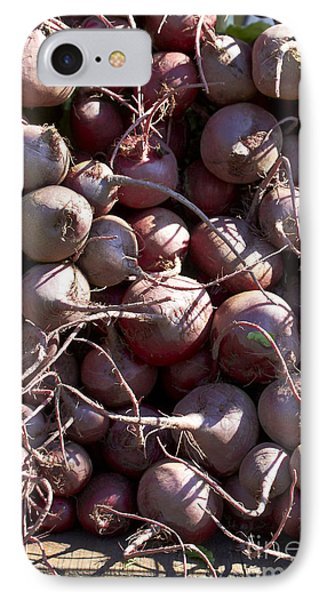 Beets IPhone Case by Tony Cordoza